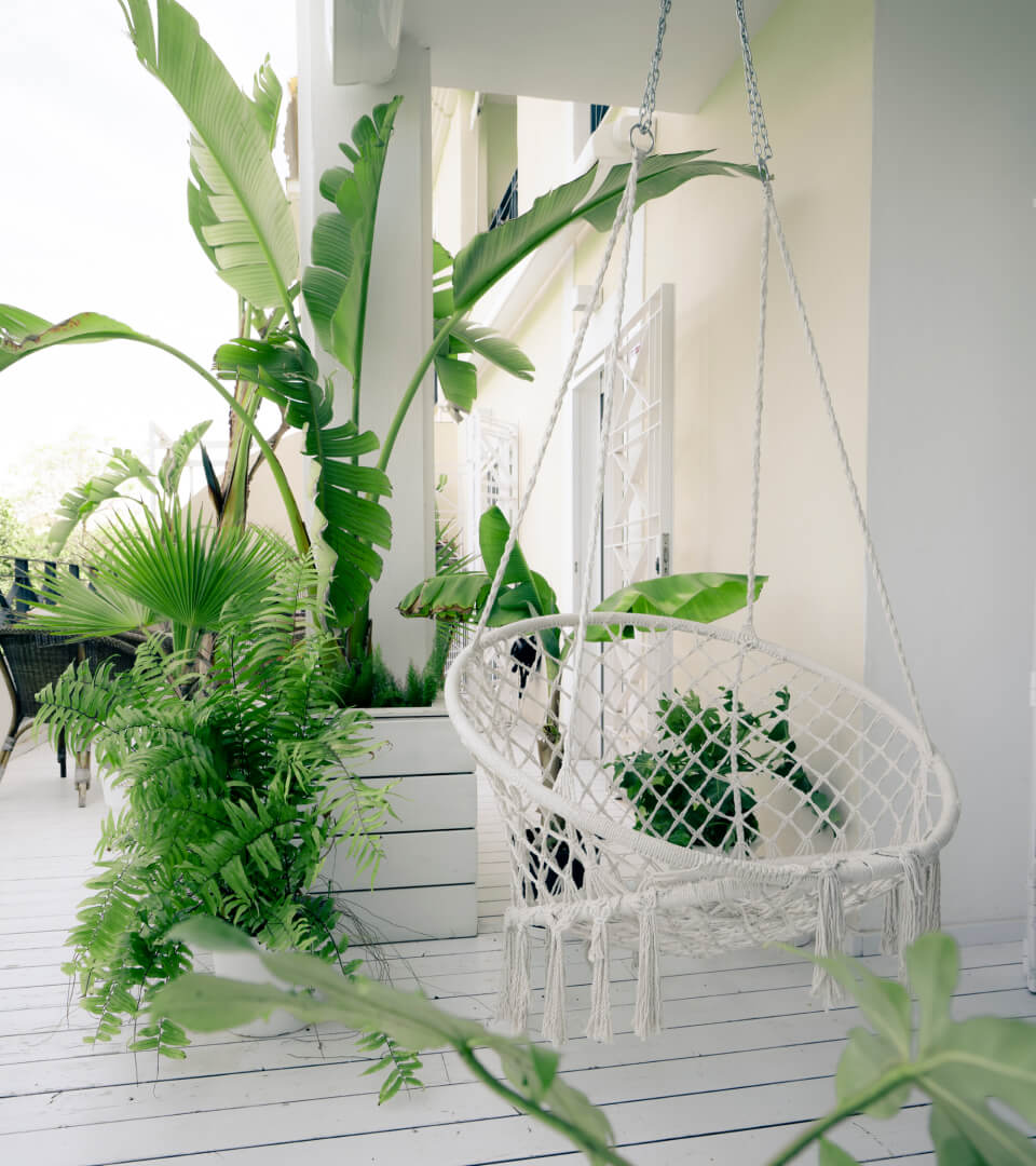 Proyecto interiorismo. La casa del lago porche